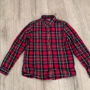 L.L. Bean Flannel Plaid Shirt